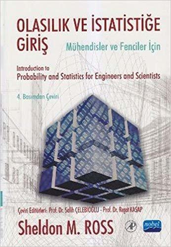 Olasılık ve İstatistiğe Giriş: Mühendisler ve Fenciler İçin