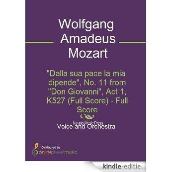 """""""Dalla sua pace la mia dipende"""", No. 11 from """"Don Giovanni"""", Act 1, K527 (Full Score) [Kindle-editie]"""