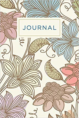 Inmate journal for women: Notebook with inspiring, positive and motivational quotes: Record your thoughts, document your progress: Elegant floral cover