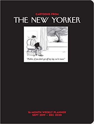 Cartoons from the New Yorker Weekly Planner 2019-2020 Calendar: Sept 2019-dec 2020