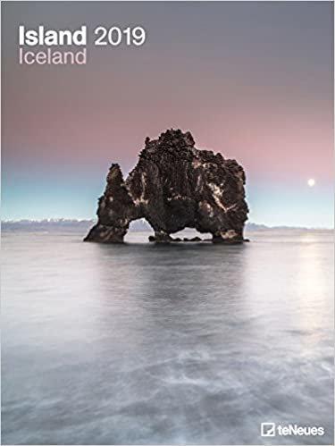 2019 Iceland Poster Calendar - Art Calendar- 48 x 64 cm