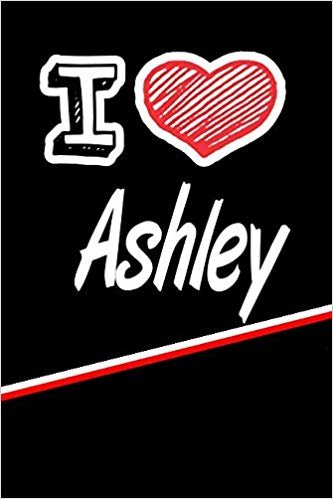 """I Love Ashley: Blood Sugar Diet Diary journal log featuring 120 pages 6""""x9"""""""