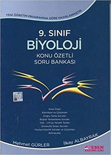 Esen 9. Sınıf Biyoloji Konu Özetli Soru Bankası Yeni