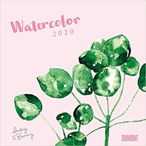 Watercolor 2020 - May & Berry - Wandkalender