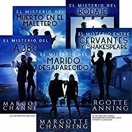 LOS MISTERIOS DE CHANNING: EL MISTERIO DEL MARIDO DESAPARECIDO, MALETERO, A380, RODAJE y CERVANTES en un pack especial