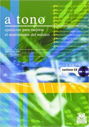 A Tono - Ejercicios Para Mejorar El Rendimiento del Musico Contiene CD