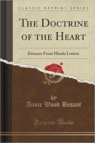 The Doctrine of the Heart: Extracts from Hindu Letters (Classic Reprint)