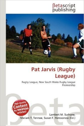 Pat Jarvis (Rugby League)