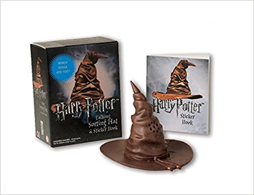 Harry Potter Talking Sorting Hat And Sticker Book.: Which House Are You? (Rp Minis)