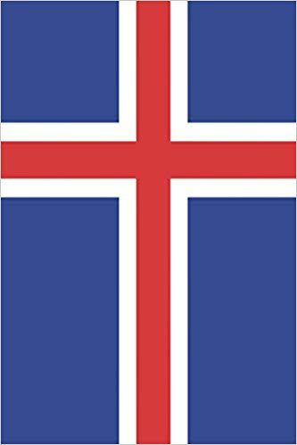 Iceland Flag Journal: Blank lined diary