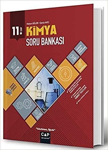 Çap Yayınları 11. Sınıf Anadolu Lisesi Kimya Soru