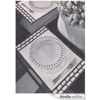 #0888 BORDER PLACE MATS VINTAGE CROCHET PATTERN (English Edition) [Kindle-editie]