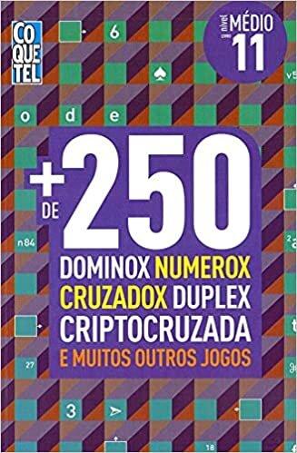 Coquetel - +250 Dominox, Numerox -Medio-Livro 11-Volume 02