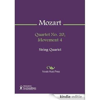Quartet No. 20, Movement 4 - Score [Kindle-editie]