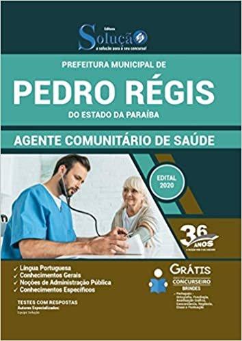 Apostila Prefeitura Pedro Régis - Agente Comunitário Saúde