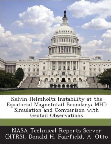 Kelvin Helmholtz Instability at the Equatorial Magnetotail Boundary: Mhd Simulation and Comparison with Geotail Observations