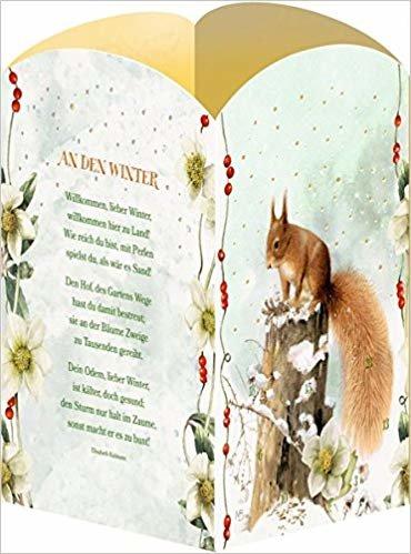 Marjoleins leuchtende Winterwelt Laternen-Aufstellkalender