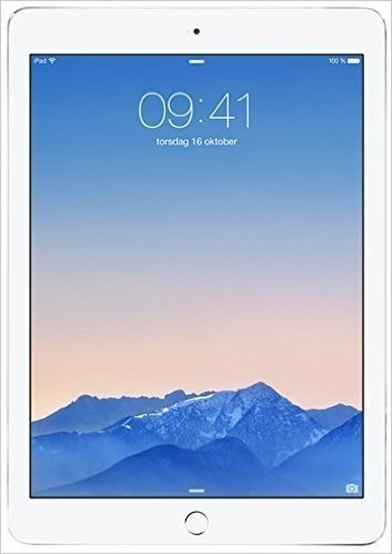 2014 Newest Apple iPad Air 2 thinest with touch ID fingerprint reader retina display(64GB,Wifi+Cellular,Silver)(Versione USA, importato)