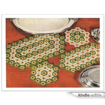 #1918 HOT PLATE AND PLATTER MAT VINTAGE CROCHET PATTERN (English Edition) [Kindle-editie]