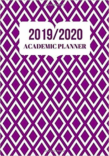 "2019/2020 Academic Planner: Simple Easy To Use August 2019 to July 2020 Academic Daily Weekly Monthly and Year Calendar Planner Organizer and Lesson ... 7""x10"" 120 pages. (Academic Session Planner)"
