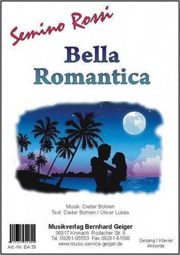 Bella Möbel per letto singolo (Semino rossi) - edizione per canto/pianoforte/tastiera/fisarmonica/chitarra (lingua tedesca)