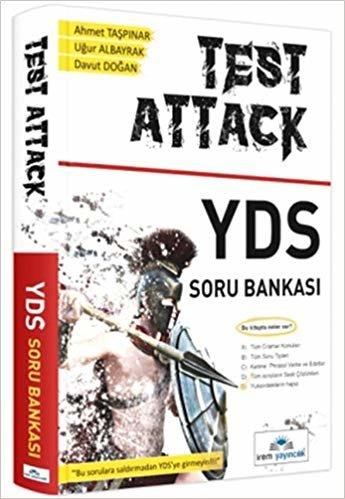 """Test Attack YDS Soru Bankası: """"Bu Sorulara Saldırmadan YDS'ye Gimeyin!!!"""""""