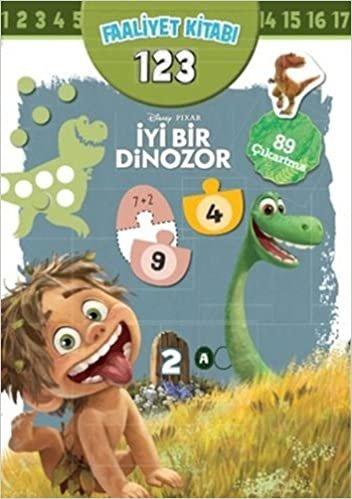 Disney İyi Bir Dinozor Faaliyet Kitabı 123: 89 Çıkartma