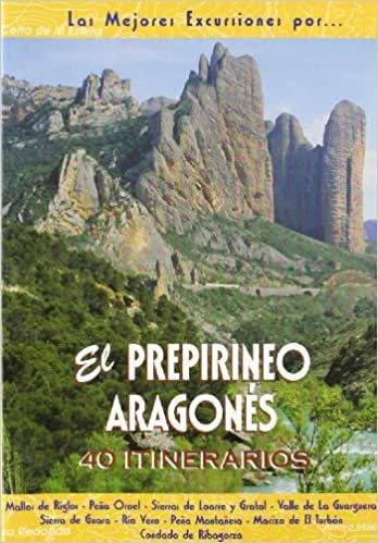 El Prepirineo aragonés : 40 itinerarios