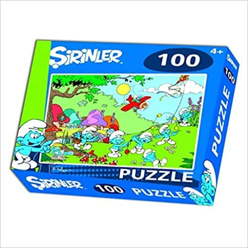 Laço Şirinler 100 Parça Puzzle
