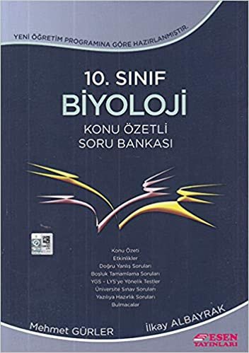 Esen 10. Sınıf Biyoloji Konu Özetli Soru Bankası Yeni