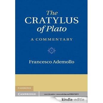 The Cratylus of Plato [Kindle-editie]
