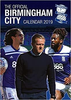 Birmingham City Official 2019 Calendar - A3 Wall Calendar