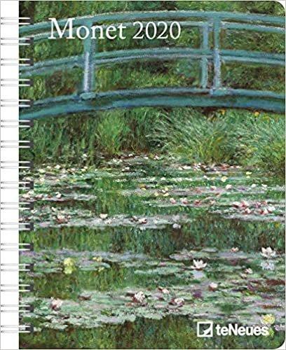 Art Diary - Monet 2020 Deluxe Diary