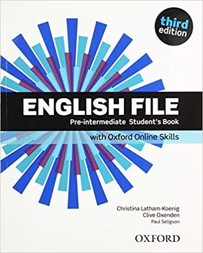 English File: Pre-Intermediate: Student's Book with Oxford Online Skills