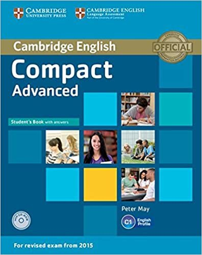 Compact Advanced Student Book With /Answers e CDrom