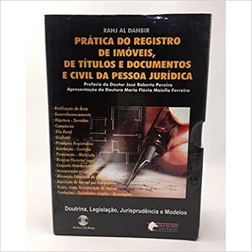 Prática do Registro de Imóveis, de Títulos e Documentos e Civil da Pessoa Jurídica