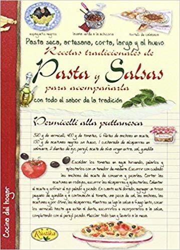 Patas y salsas para acompañar (Cocina del hogar)