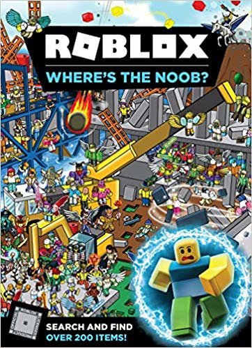 Roblox Where's the Noob? Search and Find Book