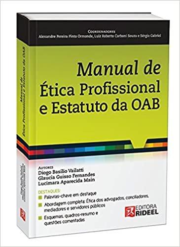 Manual de ética Profissional e Estatuto da OAB
