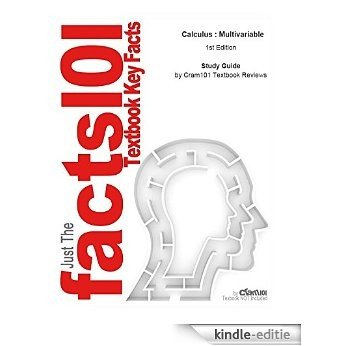 e-Study Guide for: Calculus : Multivariable by Brian E. Blank, ISBN 9780470412718 [Kindle-editie]