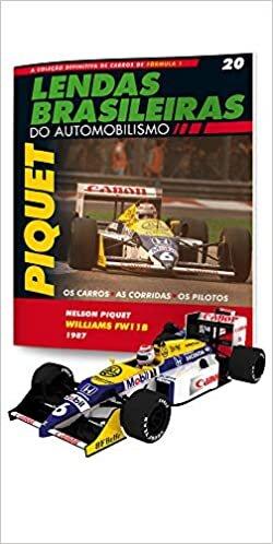 Lendas Brasileiras Do Automobilismo: Williams Honda Fw11b - Nelson Piquet