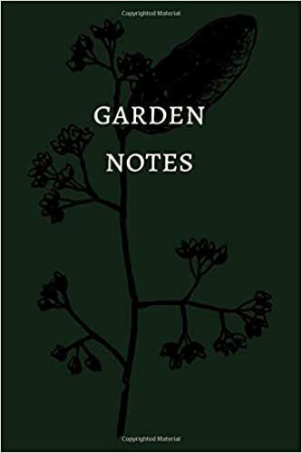 Garden Notes: Plant Notebook Journal Dot Grid