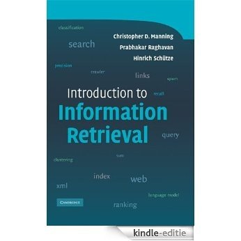 Introduction to Information Retrieval [Kindle-editie]