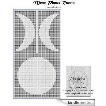 Triple Moon Phase Filet Crochet Ruana (English Edition) [Kindle-editie]