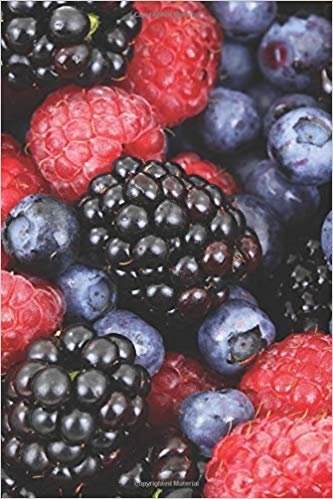 Berries: Blank Lined Notebook, Journal or Diary