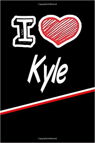 """I Love Kyle: Blood Sugar Diet Diary journal log featuring 120 pages 6""""x9"""""""