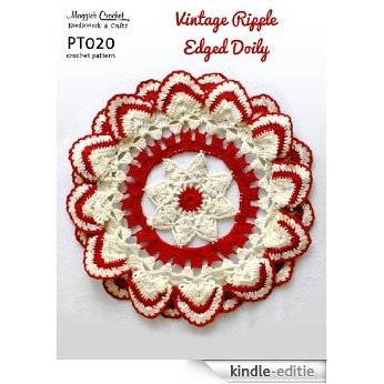 Crochet Pattern Vintage Ripple-Edged Doily PT020-R (English Edition) [Kindle-editie] beoordelingen