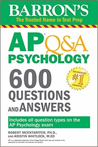 Barron's AP Q&A Psychology: 600 Questions and Answers