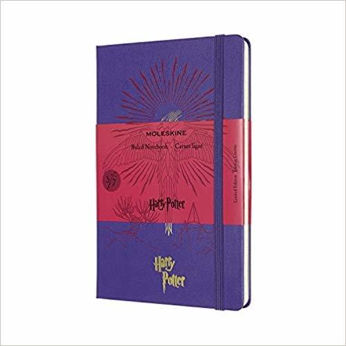 Moleskine Limited Edition Notebook Harry Potter, Book 5, Large, Ruled,  Brilliant Violet (5 x 8.25)