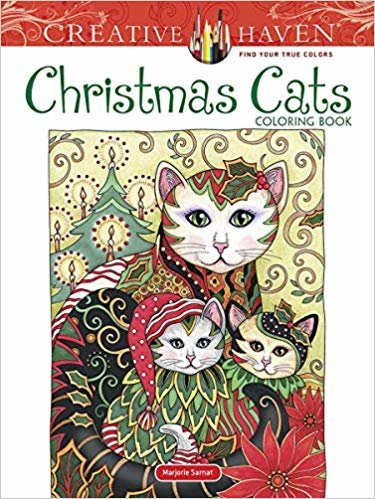 Creative Haven Christmas Cats Coloring Book (Creative Haven Coloring Books)